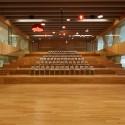 Grote houten tribune