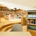 Ook de bibliotheek is terug in het nieuwe pand, zij het onder de naam knowledge centre.